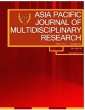 Asia Pacific Journal of Multidisciplinary Research