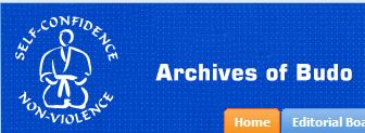 Archives of Budo