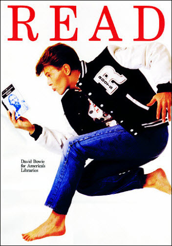 David Bowie Read Poster