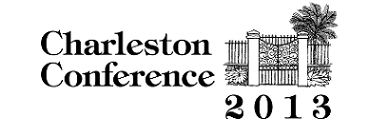 2013 Charleston Conference logo