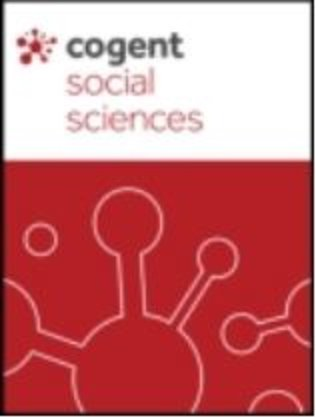 Cogent Social Sciences