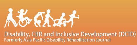 Disability CBR and Inclusive Development