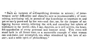 Doctress in medicine.(1849, Feb 07). The Boston Medical and Surgical Journal (1828-1851), 40, 25.