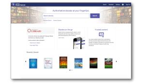 Ebook Central platform