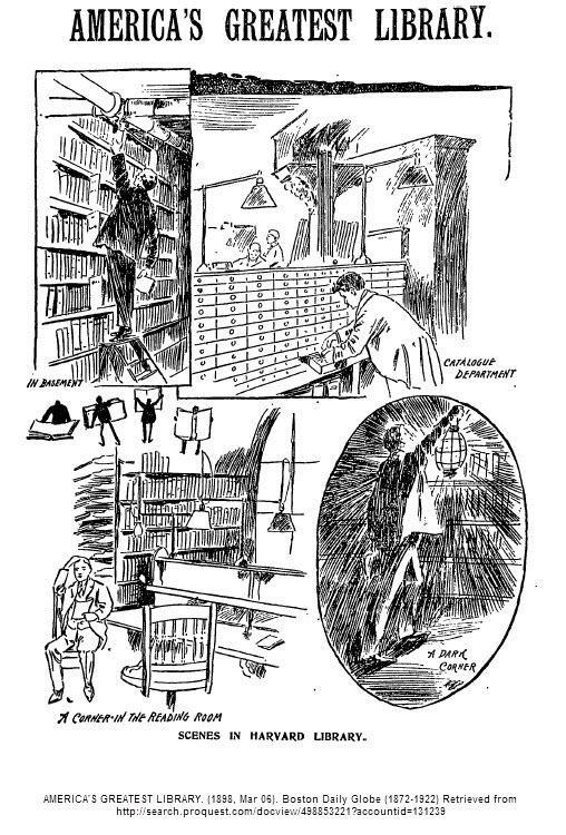AMERICA'S GREATEST LIBRARY. (1898, Mar 06). Boston Daily Globe (1872-1922)