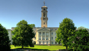 Trent Building at the University of Nottingham
