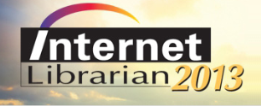 Internet Librarian 2013 logo