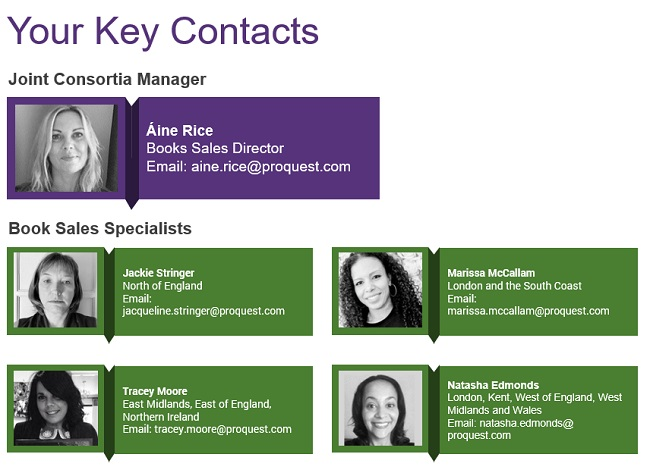 Your Key Contacts