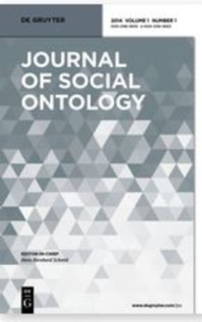 Journal of Social Ontology