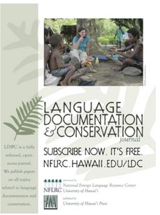 Language Documentation and Conservation