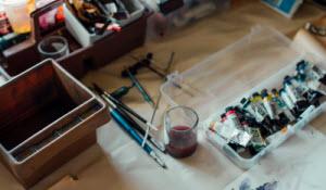 Box of paints