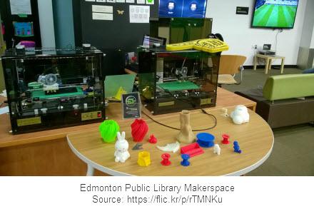 Edmonton Public Library Makerspace