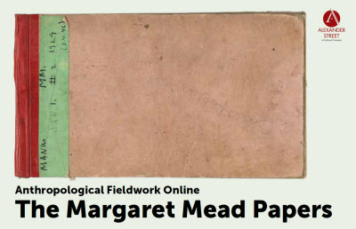 Margaret Mead, field notebook