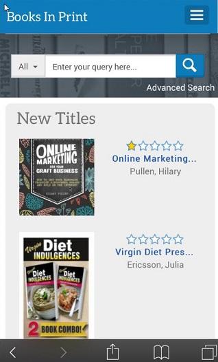 Mobile+app+Books+in+Print