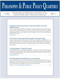 Philosophy and Public Policy Quarterly
