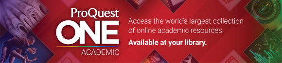 ProQuest One Academic banner