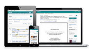 ProQuest platform on multiple devices