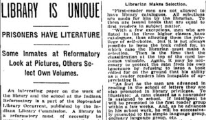 LIBRARY IS UNIQUE. (1907, Sep 29). Indianapolis Star (1907-1922)