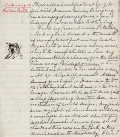 Queen Victoria's Journal: February 10, 1840