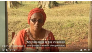 Testimony from Valerie Nyirarudodo