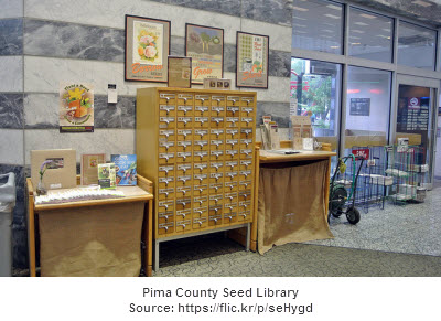 Pima County Library Seed Library