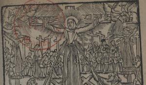 olycarpe Du Fay's La Béatification des premiers martyrs du Jappon (1628)