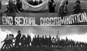 Women's march and Civil Rights march