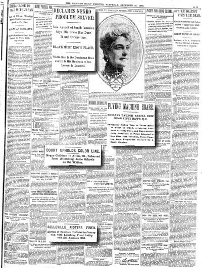 Chicago Tribune, December 19, 1903