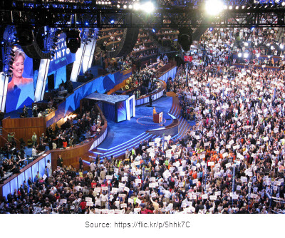Hillary Clinton, 2008 Democratic National Convention