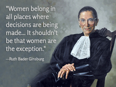 Ruth Bader Ginsburg Quote: