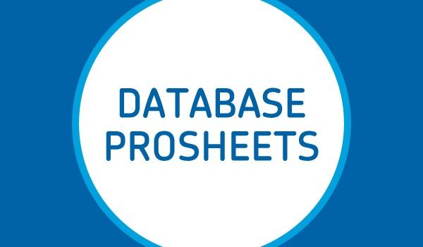 Dialog Prosheets new