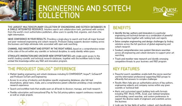 Engineering and SciTech