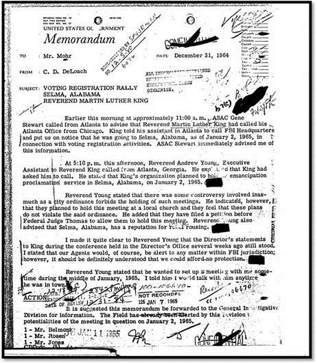 King FBI document