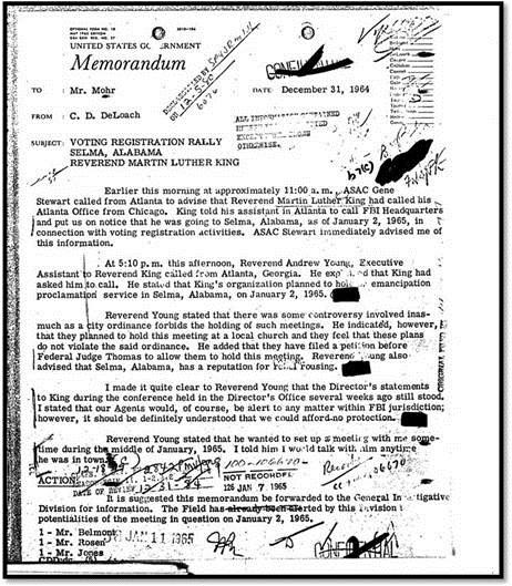 King FBI document