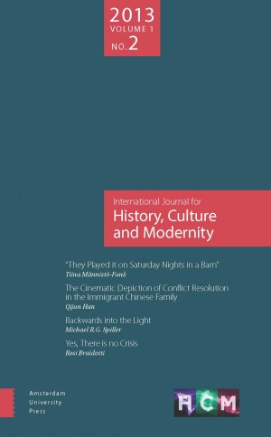 The International Journal for History, Culture and Modernity front cover