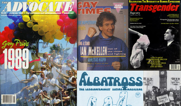 Learn More About LGBT Magazine Archive