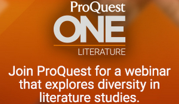 Special Library Journal Webcast: Equality, Diversity and Inclusion in Literary Studies and Collections