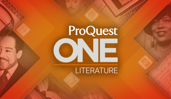 Learn More About ProQuest One Literature