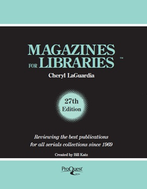 Magazines for Libraries Directory