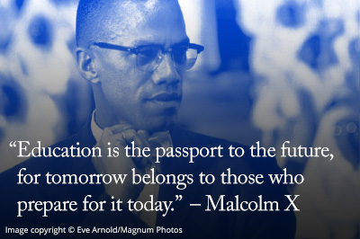 Malcolm X quote: