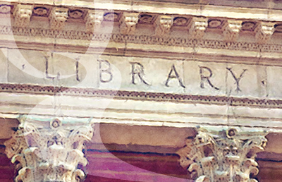 Library frieze