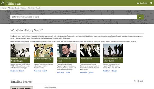 ProQuest+History+Vault