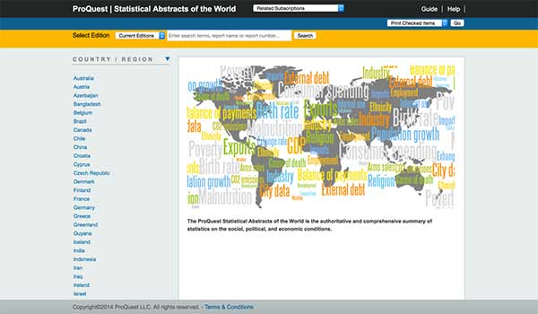 ProQuest+Statistical+Abstracts+of+the+World