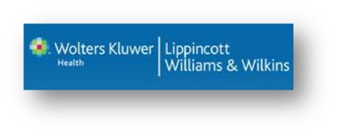 Wolters Kluwer for Lippincott Williams & Wilkins Ebooks Logo