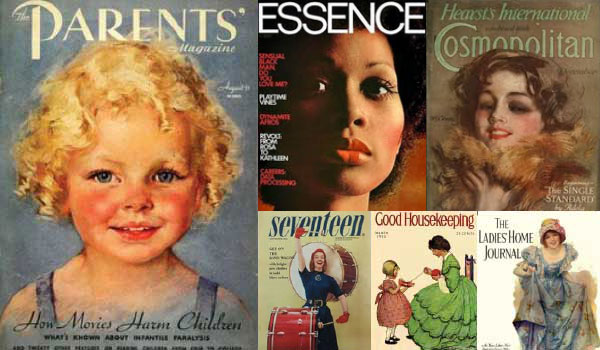womens magazine archive